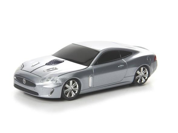 Компьютерная мышь в виде RoadMice Jaguar XKR Silver