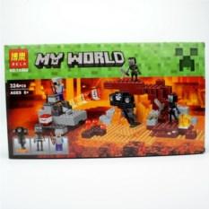 Конструктор Bela Minecraft Иссушитель