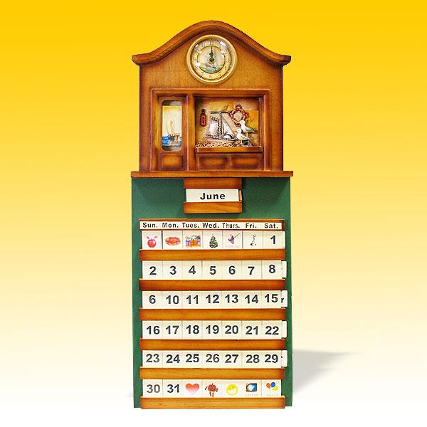 Декоративный календарь