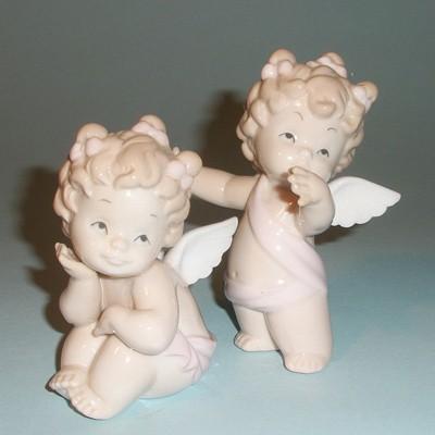 Статуэтки ангелов Кудряшки (пара)
