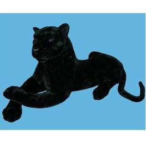 Плюшевая черная пантера
