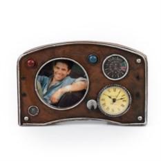 Фоторамка с часами Панель приборов