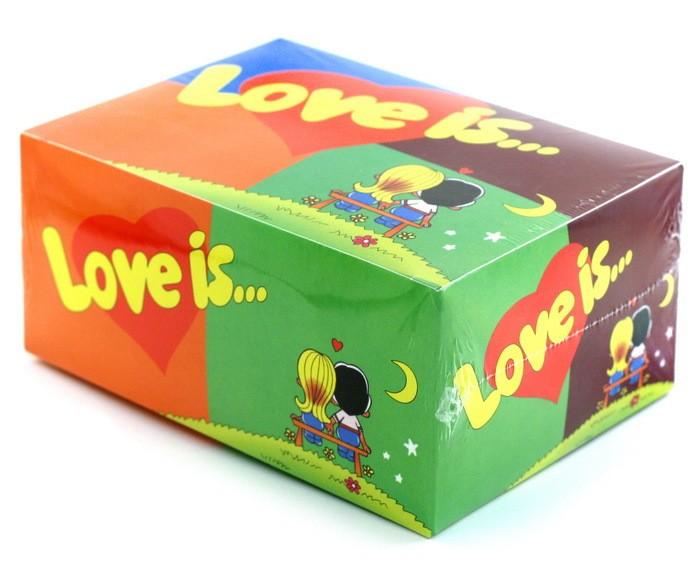 Блок жвачек Love is Mix (80 шт.)