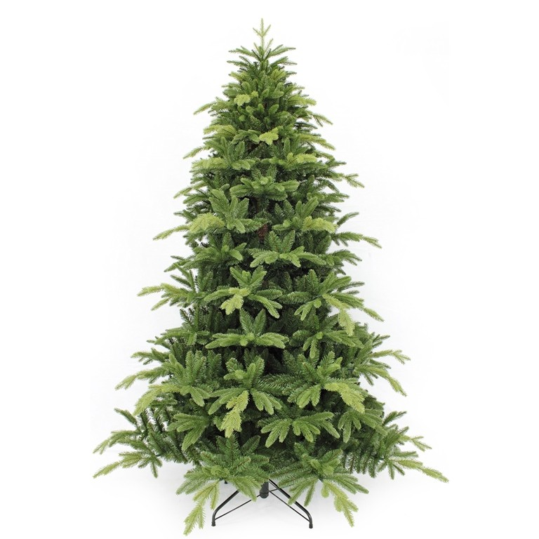 Искусственная ель Милтон, зеленая, 230 см, 340 ламп
