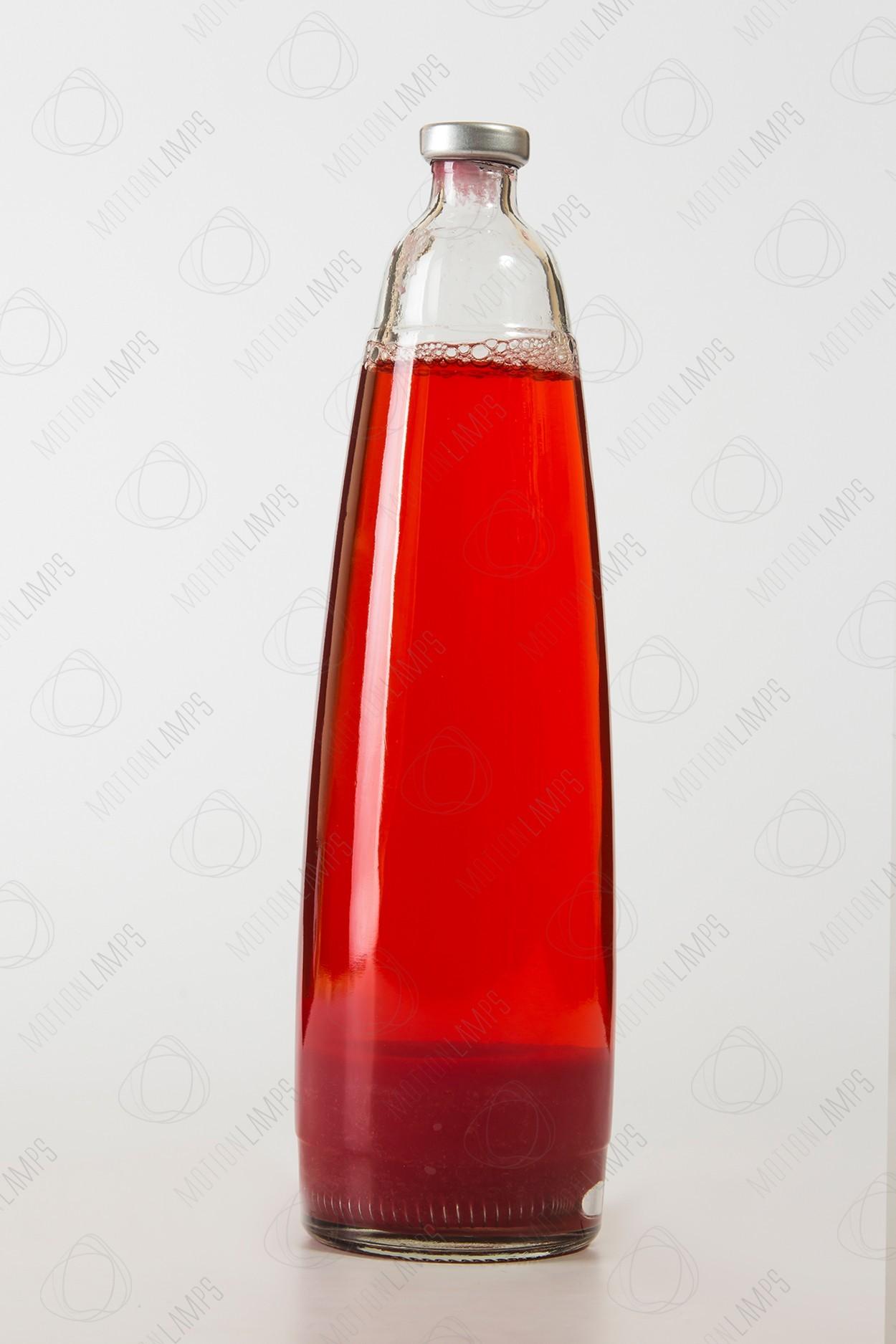 Колба для лава-лампы (цвет воска — красный)