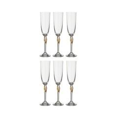 Набор бокалов для шампанского «Флер»
