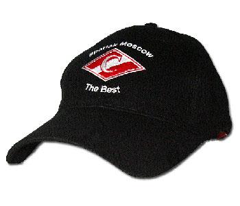Бейсболка «Спартак» чёрная