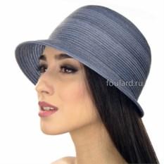 Женская синяя пляжная шляпа Del Mare