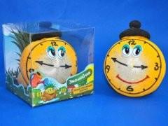 Травянчик-смайлик часы