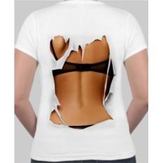 Женская футболка Голая спина