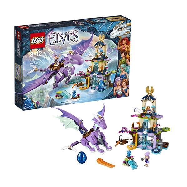 Конструктор Lego Elves Логово дракона