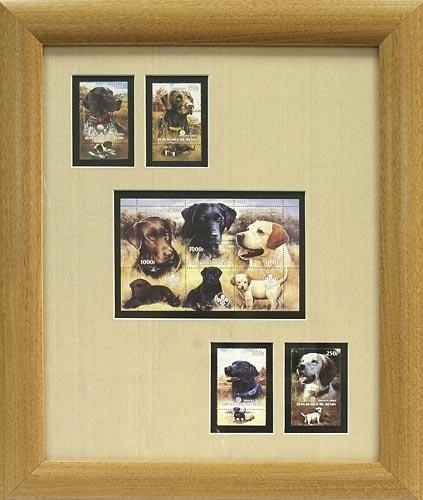 Настенное панно Собаки (серия Марки в раме)