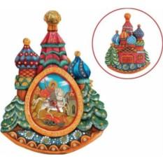 Новогоднее елочное украшение Георгий Победоносец