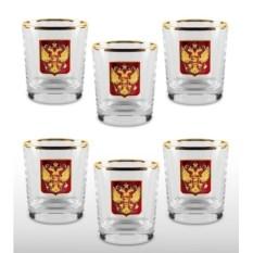 Подарочный набор стаканов для виски «Официальный прием»