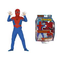 """Костюм Cesar  """"Человек-паук """" сине-красный, 5/7 лет.  Упаковка - блистер."""
