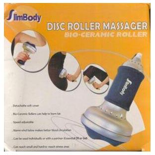 Массажер биокерамический дисковый роликовый