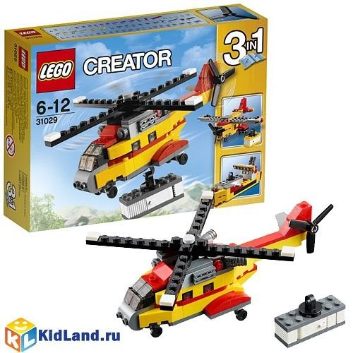 Конструктор Лего Криэйтор Грузовой вертолет
