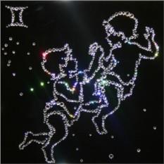 Картина с кристаллами Swarovski Близнецы