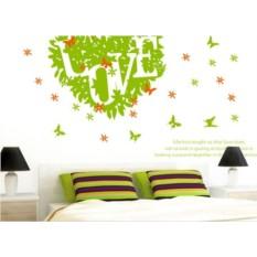 Виниловая наклейка на стену Love