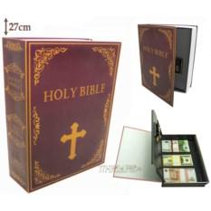 Книга-сейф с кодовым замком Bible (высота 27 см)
