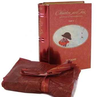 Столовое полотенце Книга, том V Я тебя люблю