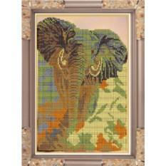 Набор для вышивания бисером Слон от Светлица