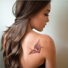 Татуировка переводная Sasha Unisex Origami
