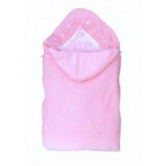 Комплект на выписку Розовый летний плед-трансформер