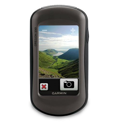 Туристический GPS навигатор Garmin Oregon 550