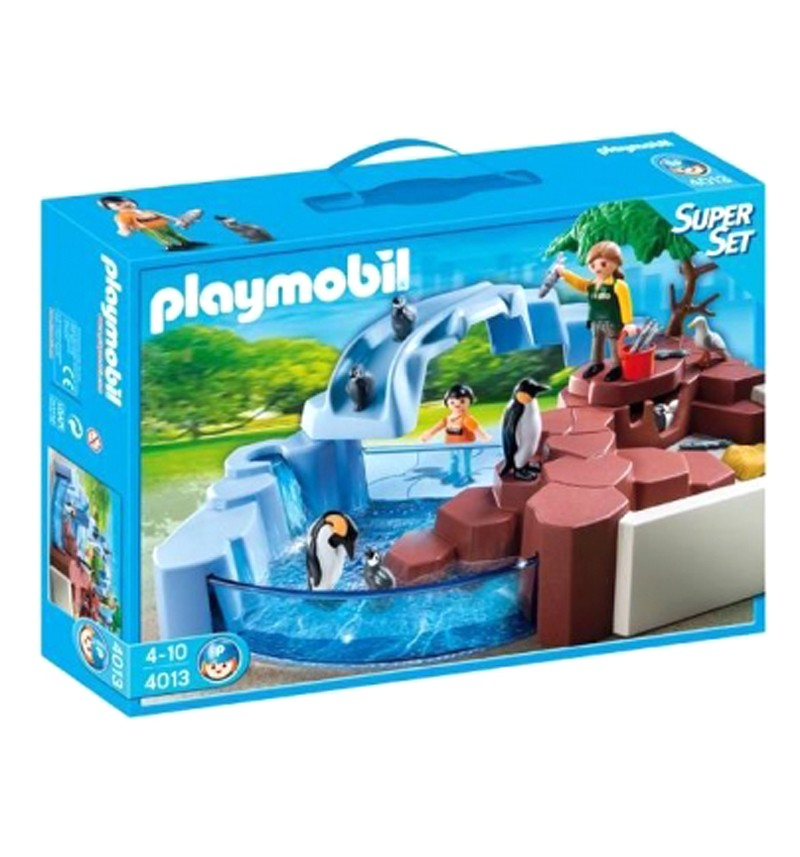 Конструктор Playmobil Пингвины у воды. Зоопарк