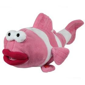 Интерактивная игрушка розовая рыбка