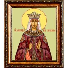 Икона на холсте Милица (Евгения) Сербская Святая княгиня