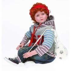 Коллекционная кукла Мальчик-футболист Хенинг RF-COLLECTION