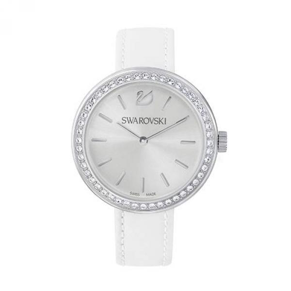 Часы Swarovski из нержавеющей стали Daytime White