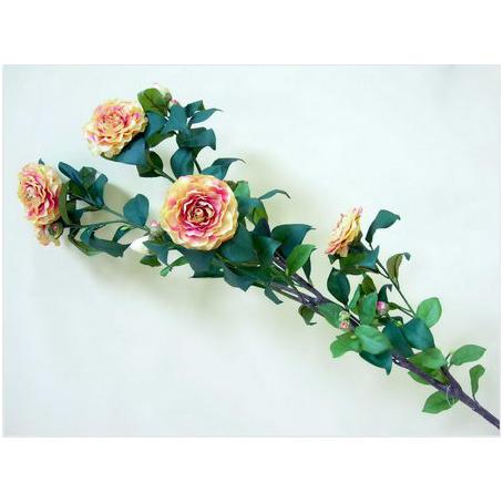 Цветок декоративный «Розы медовые»