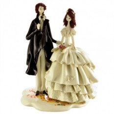Фарфоровая фигурка Жених и невеста от ZamPiva
