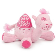 Мягкая игрушка-подушечка Маленький розовый верблюжонок