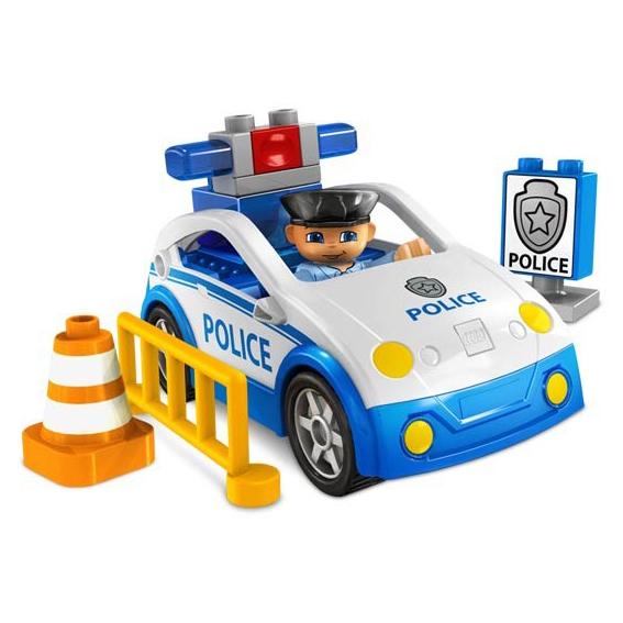 Конструктор Lego Duplo «Полицейский патруль»