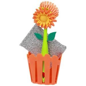Набор для мытья посуды «Flower Power»