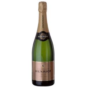 Вино Champagne Brut Rose. Henriot