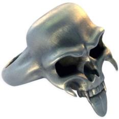 Кольцо с черепом Талисман Bico