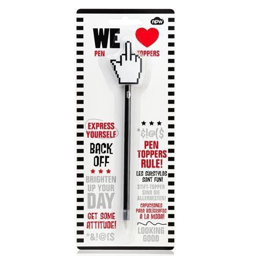 Ручка с декоративной насадкой