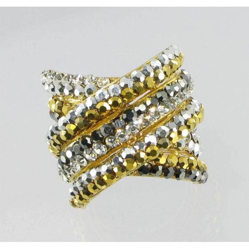 Кольцо «Изгиб»