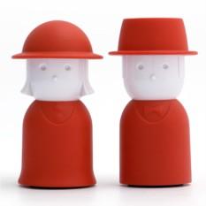 Красный набор для специй Mr.Pepper & Mrs. Salt
