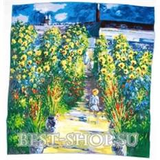 Платок Сад Моне в Vetheuil