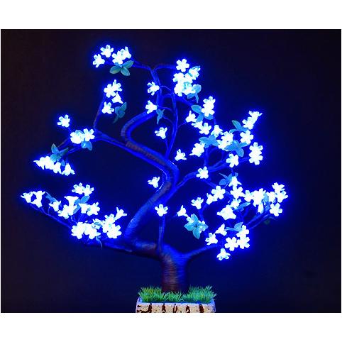Светильник в виде дерева «Неоновый вечер»