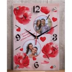 Настенные часы «Романтичный букет»