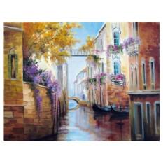 Картины по номерам «Цветочная Венеция»