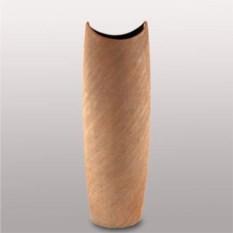 Керамическая ваза песочного цвета (высота 80 см)