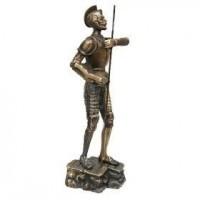 Бронзовая скульптура Бравый Дон Кихот